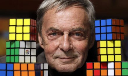"""Mr Rubik says, """"Is it about my cube?"""""""
