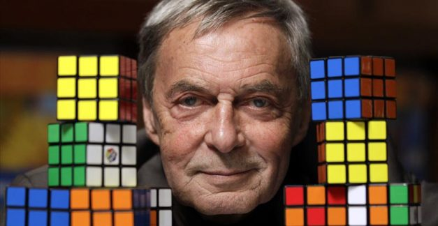 "Mr Rubik says, ""Is it about my cube?"""