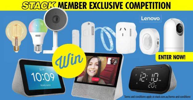 WIN 1 of 2 ultimate Lenovo smart home kits!