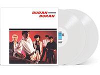 White vinyl LP of Duran Duran's debut album