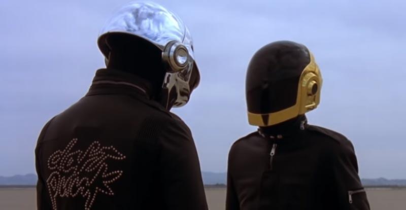 Daft Punk give up da funk