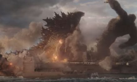 Godzilla hits back!