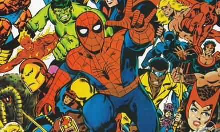 Head behind Marvel's mask