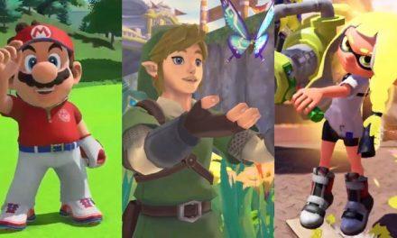 New Zelda, Mario and Splatoon coming to Switch