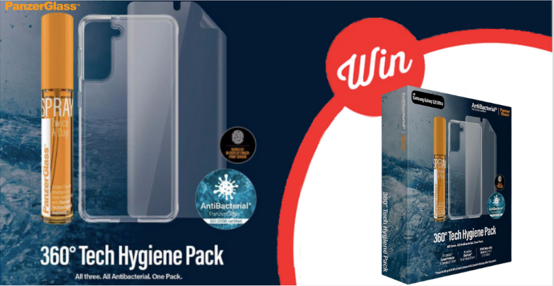 WIN 1 of 10 S series Tech hygiene packs!