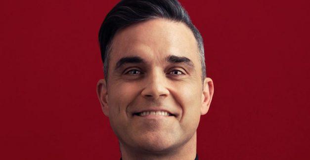 Robbie Williams biopic set to entertain us