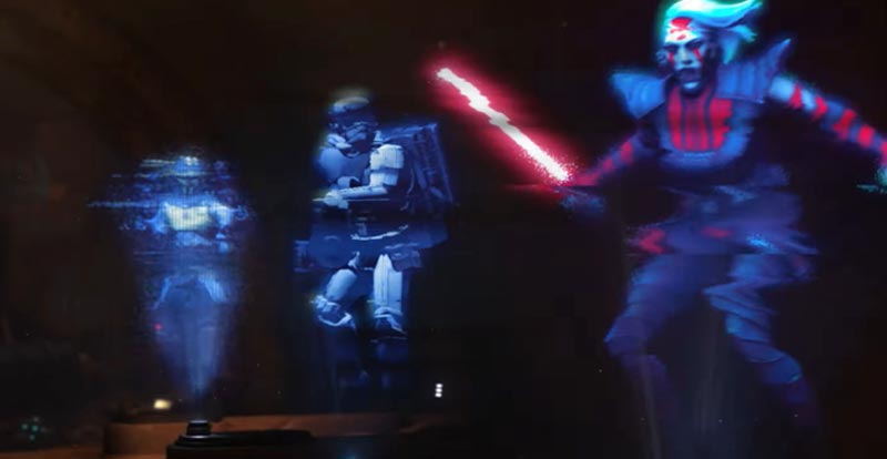 Get in the ring with Star Wars: Hunters