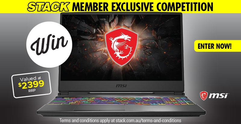 Enter to WIN an MSI Gaming Laptop!