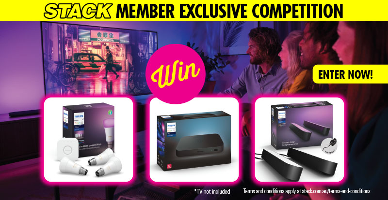 WIN the ultimate Philips Hue Lighting pack!