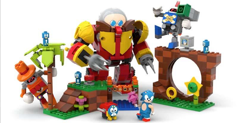 Gotta build fast! More Sonic LEGO incoming