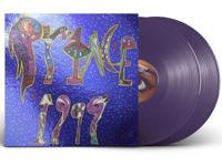 Purple vinyl record