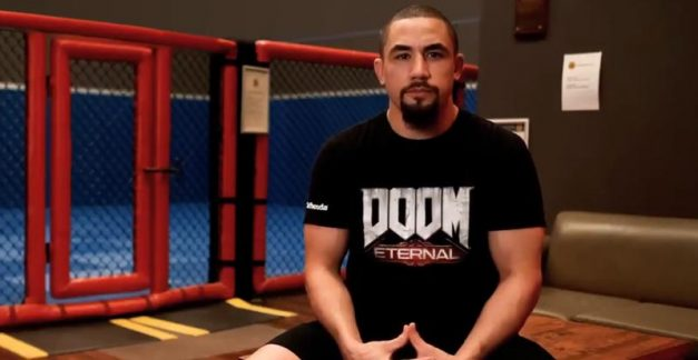 Train like a DOOM Slayer with UFC star Rob Whittaker