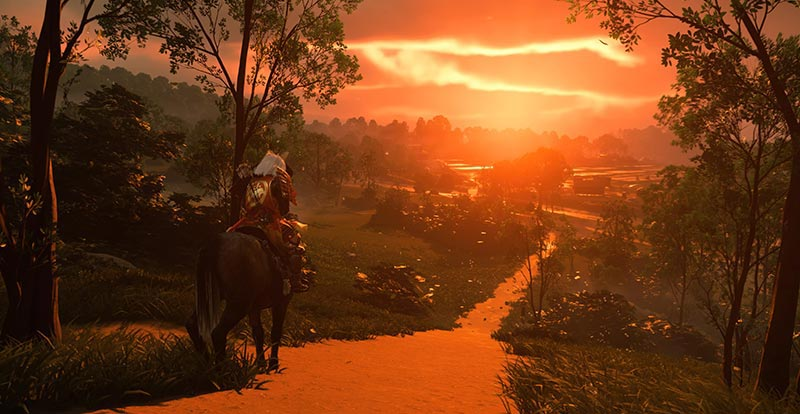 Ghost of Tsushima going big screen