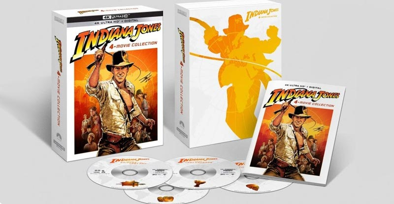 UPDATED: Get ready for Indiana Jones and the 4K Ultra HD!