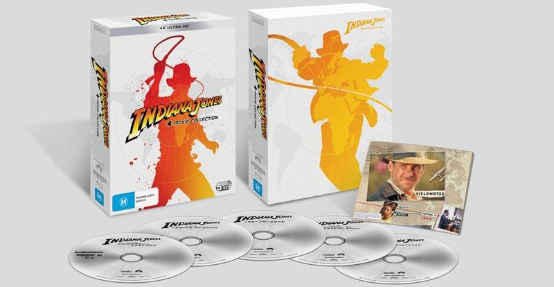 Here's the Australian Indiana Jones and the 4K Ultra HD!