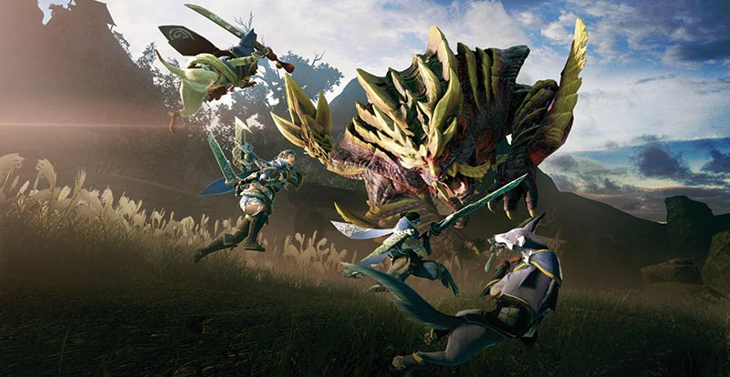 May the road rise with you – Monster Hunter Rise