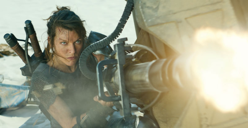 Milla Jovovich – Back in action