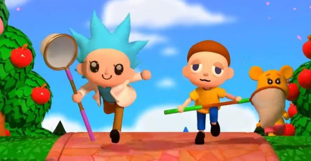 Rick and Morty x Animal Crossing