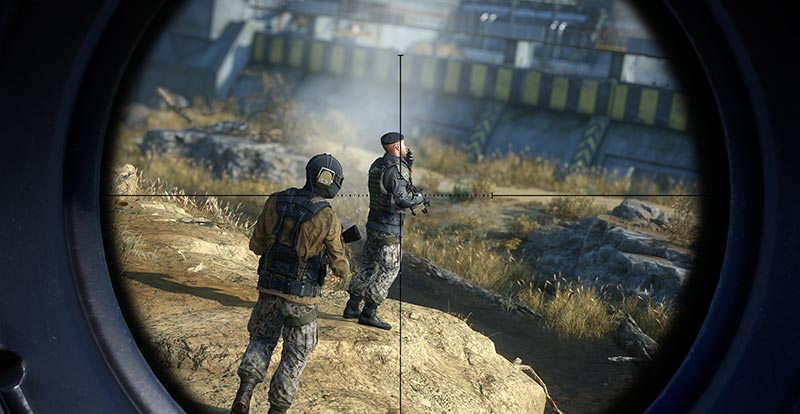 Sniper Ghost Warrior Contracts 2 makes an appointment