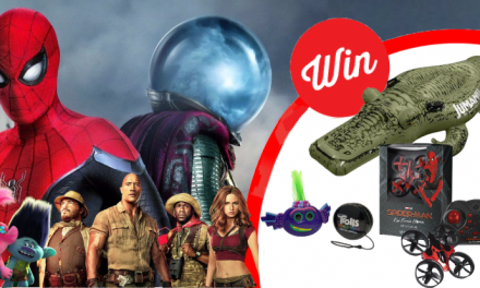 WIN the ultimate KIDS PRIZE PACK!