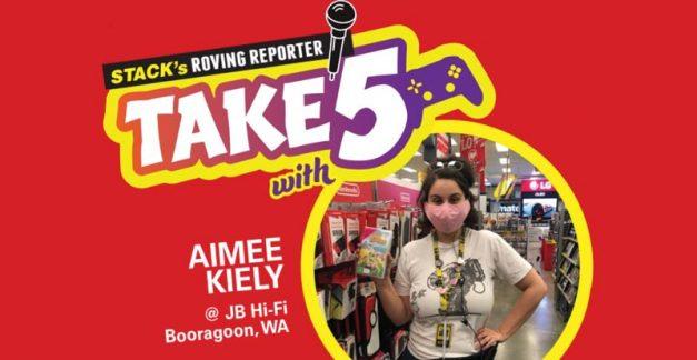 Take 5 games – Aimee Kiely at JB Booragoon