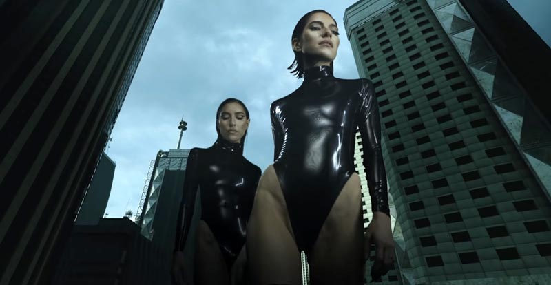 The Veronicas shout out to Godzilla