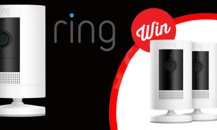 WIN one of FIVE Ring Stick Up security cameras!