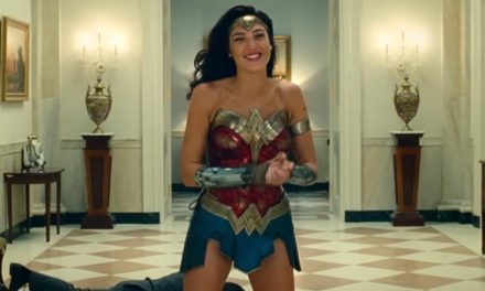 Wonder Woman gets the giggles