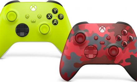 Xbox keep the colours coming!