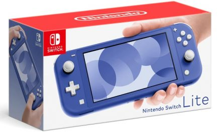 Nintendo are go for blue Lite!