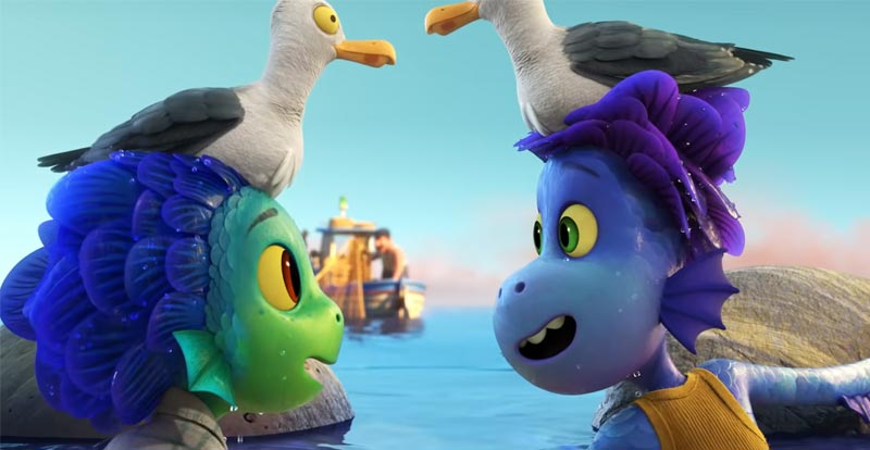 Everything is good above the surface in Pixar's Luca