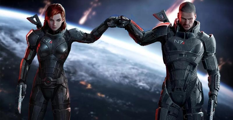 Ooh, shiny! Mass Effect: Legendary Edition in action