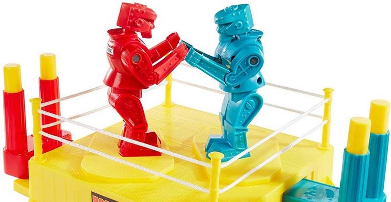 Diesel fuelled Rock 'em Sock 'em Robots