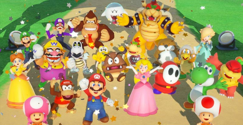 Play Super Mario Party with friends far and wide