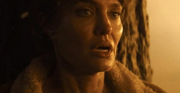 Angelina Jolie's on fire in Those Who Wish Me Dead