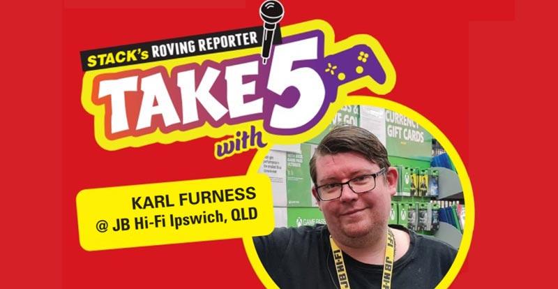 Take 5 games – Karl Furness at JB Ipswich