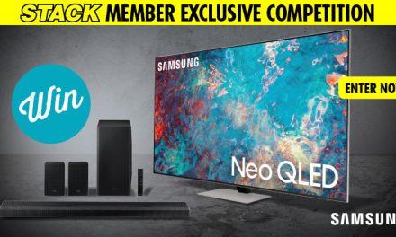 WIN a NEW Samsung 75″ Neo QLED 4K TV!