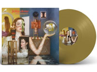 Album cover artwork for Julia Stone with gold vinyl record popping out