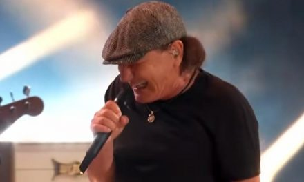 AC/DC's Brian Johnson joins Foo Fighters…