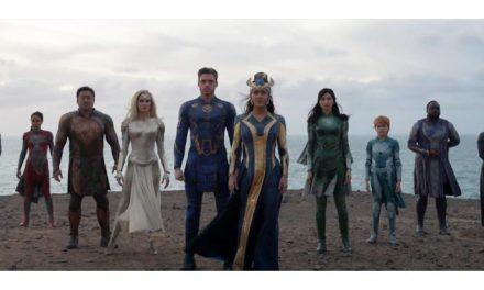 Look at Marvel's Eternals!
