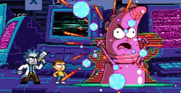Rick and Morty go 16-bit