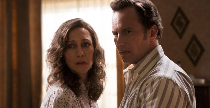 Interview with Vera Farmiga and Patrick Wilson – The Conjuring: The Devil Made Me Do It