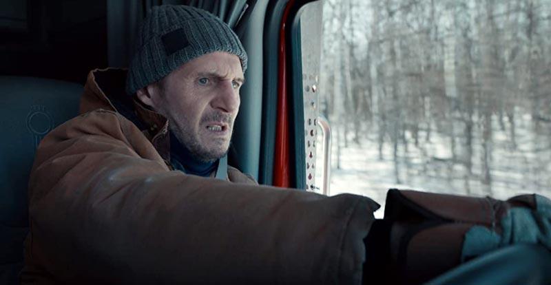 Liam Neeson is an ice road trucker!