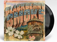 Album cover artwork for Blackberry Smoke album with black vinyl record popping out