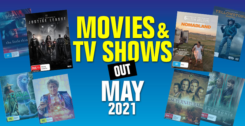 Movies & TV shows out in May 2021