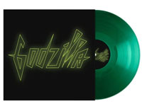 Album cover artwork for The Veronicas with green vinyl record popping out