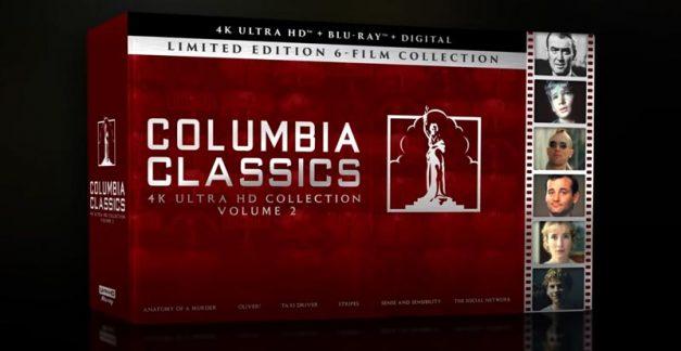 6 more Columbia classics coming to 4K Ultra HD