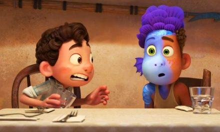 There's something fishy about these kids in Pixar's Luca