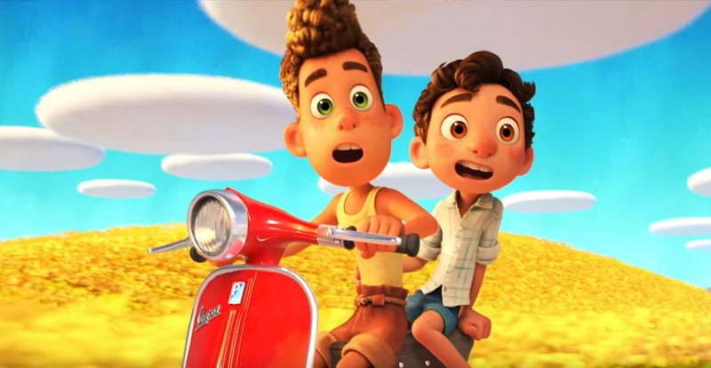 The wonderful world of Pixar's Luca