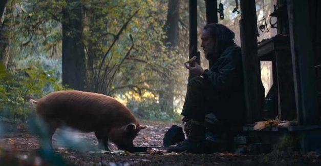 Nicolas Cage's Pig pig love!
